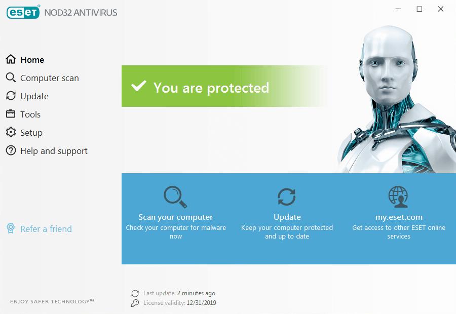 ESET NOD32 Antivirus 2020 Full Crack Plus License Key
