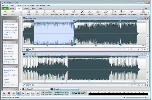 WavePad Sound Editor 10.67 Crack + Serial key [Latest]