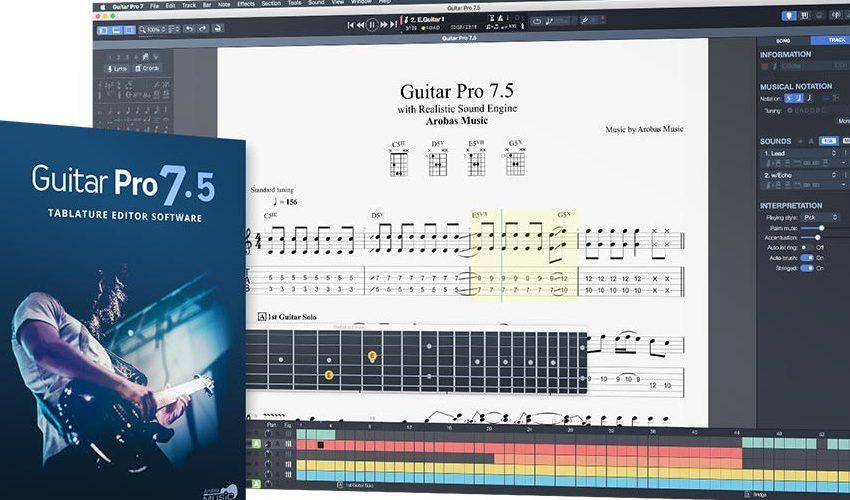 Guitar Pro 7 Crack Full Setup Free Download 2020 [Latest]