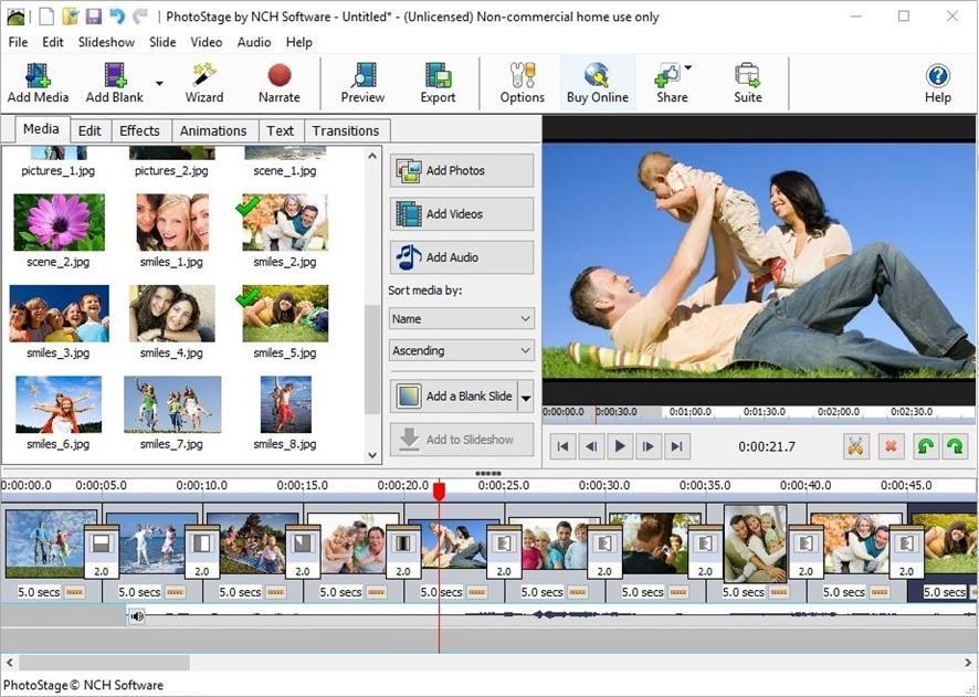 Photostage Slideshow Producer